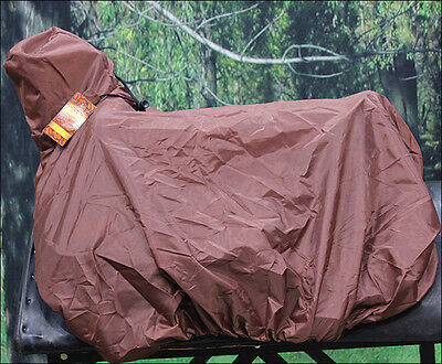 Nylon Saddle Cover Brown For Western Saddle