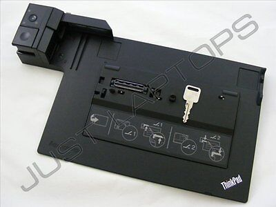 Lenovo ThinkPad T520 X230 X230i Mini Dock Docking Station 75Y5735 04W0485 w/ Key