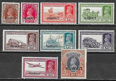 Kuwait stamps 1934 SG 36-47  MLH  VF