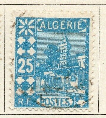 Algeria 1926-27 Early Issue Fine Used 25c. 096483