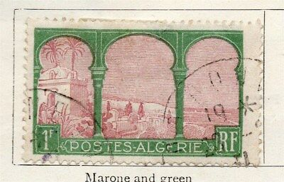 Algeria 1926-27 Early Issue Fine Used 1F. 096487