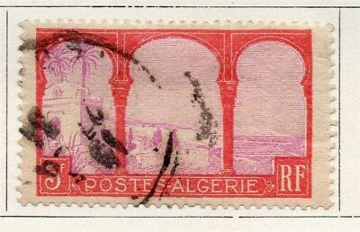 Algeria 1926-27 Early Issue Fine Used 3F. 096491