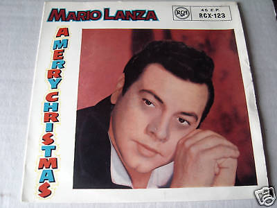 Mario Lanza  (Ep Record) Merry Christmas