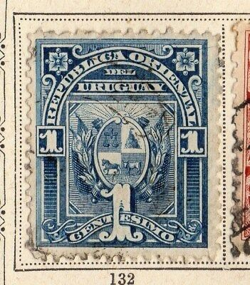 Uruguay 1894 Early Issue Fine Used 1c. 096061