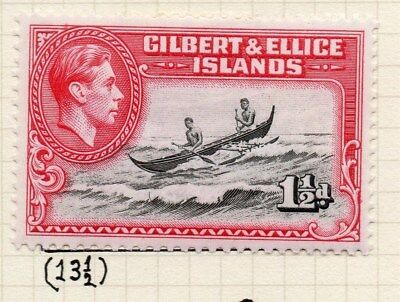 Gilbert & Ellice Islands 1939-45 Fine Mint Hinged 1.5d. Perf in Scan 096235