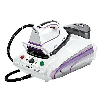 Bosch TDS3780GB Steam Generator Iron with 3100W and 1.4L Tank Capacity in White