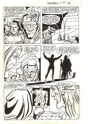 Voltron #1 p.12 - Keith Captured by Villain - 1st Series 1985 art by Dick Ayers