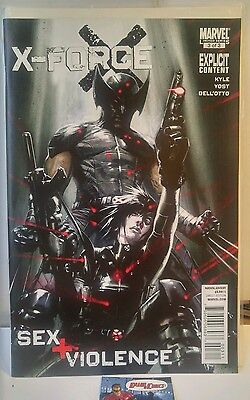 X-Force Sex and + Violence #3 1st Print Del Otto art HTF NM