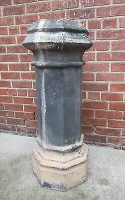 """Antique Eight Sided Chimney Top's / Pot's -   36"""" Tall"""
