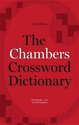 NEW The Chambers Crossword Dictionary By Chambers Paperback Free Shipping
