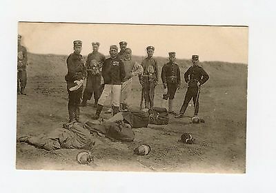 Chinese Boxer War, Execution of Boxer's Post Card Photo VERY RARE