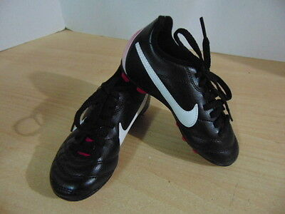 Soccer Shoes Cleats Childrens Size 10 Toddler Nike Pink Black