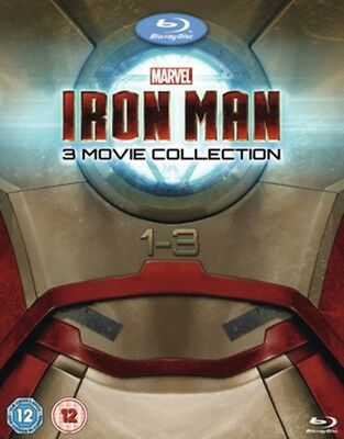 Iron Man 1-3 Complete Collection [Blu-ray], 8717418416690