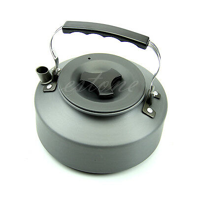 1.1L Kettle Picnic Camping Cookware Teapot Water Coffee Pot Aluminum Outdoor