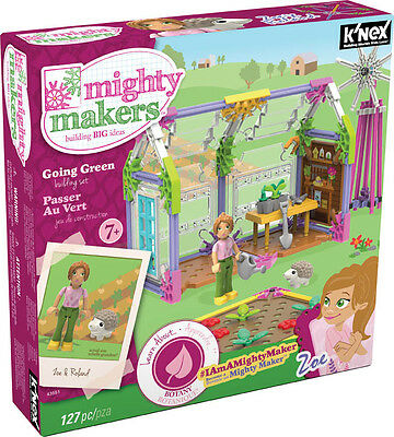 K´NEX Mighty Makers - Going Green Building Set