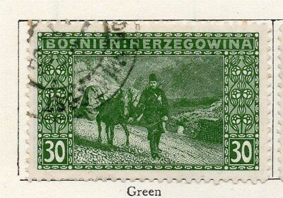 Bosnia Herzegovina 1906 Early Issue Fine Used 30h. 096584