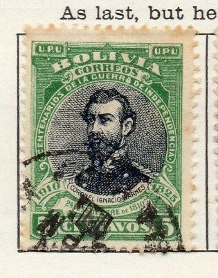 Bolivia 1909 Early Issue Fine Used 5c. 096611