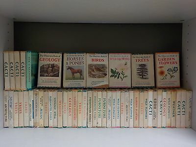 Job Lot Of Vintage Observer Books - 50 Books Collection! (ID:39795)