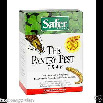 New SAFER The Pantry Pest Trap, Traps Flour, Meal, Seed &Grain Moths, 2 Trap Kit