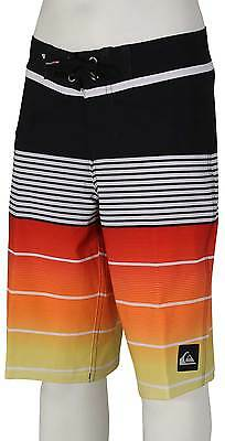 Quiksilver Boy's Division Vee Boardshorts - Quik Red - New