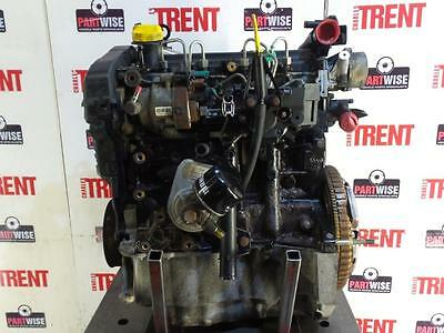 2005 RENAULT MEGANE K9K724 1461cc Diesel Manual Engine with Pump Injectors Turbo
