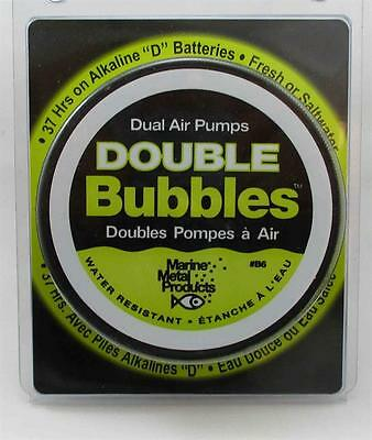 Marine Metal B6 Double Bubbles Air Pump Aerator 22338