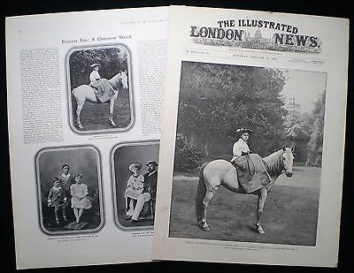 Princess Ena Victoria Eugenie Of Battenberg 2 Pages / Print Article 1894 & 1906