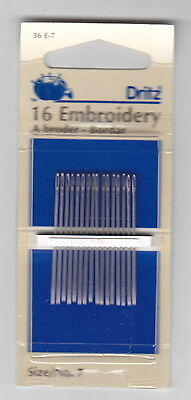 Dritz - Embroidery Needles - A Couple of Sizes to Choose From
