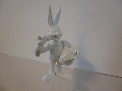 Bugs Bunny Looney Tunes Bully Bullyland Figur 1998: Bugs Astronaut Rohling weiss