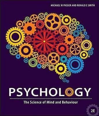 NEW Psychology Aust By Passer and Smith Paperback Free Shipping