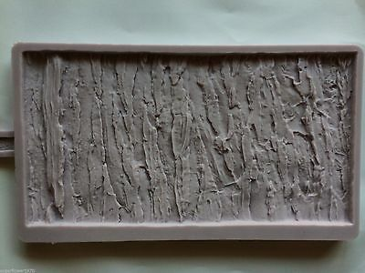 Karen Davies NEW Rustic Woodland Bark Sugarcraft Mould     FAST DESPATCH