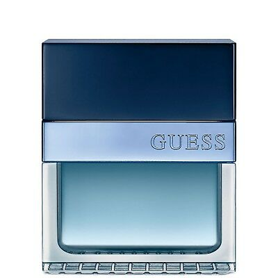 NEW Guess Seductive Homme Blue Eau de Toilette Spray 50ml Fragrance FREE P&P