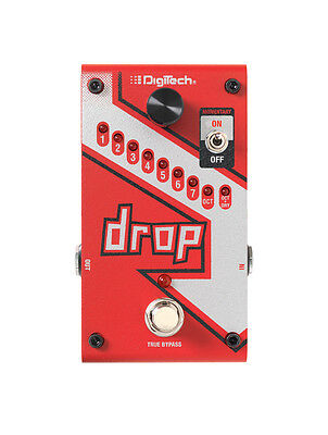 Digitech DROP Compact Polyphonic DropTune Pitch-Shifting Pedal w/ Power Sup