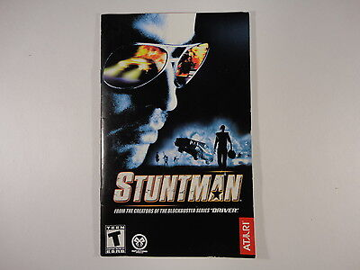 ¤ Stuntman ¤  (MANUAL ONLY) GREAT PlayStation 2 PS2