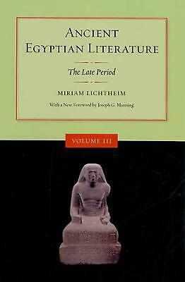 Ancient Egyptian Literature: The Late Period: Volume III: The Late Period by Mir