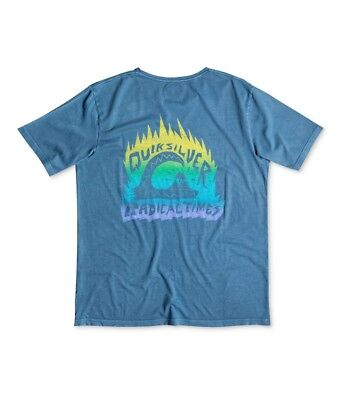Quiksilver Mens Radical Times Graphic T-Shirt