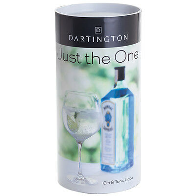 Dartington Just the One Gin & Tonic Copa Glass NEW