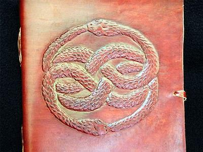 AURYN Handmade Leather Journal Notebook Diary - from the NEVERENDING STORY