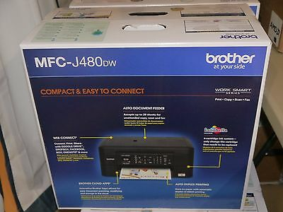 Brand New Brother MFC-J480DW All-in-One Wireless Printer