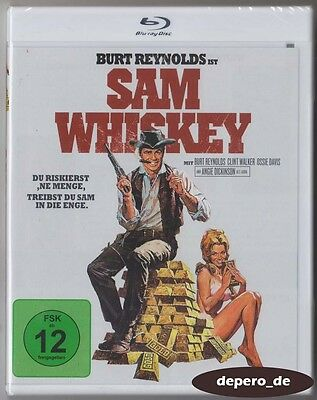 """SAM WHISKEY"" - Burt Reynolds - Western Comedy Classic - BLU RAY - Region B"