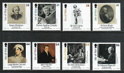 Isle of Man 2006 National Portrait Gallery--Attractive Art Topical (1163-70) MNH