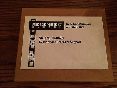 Rokenbok 04691 Braces & Supports New in Package