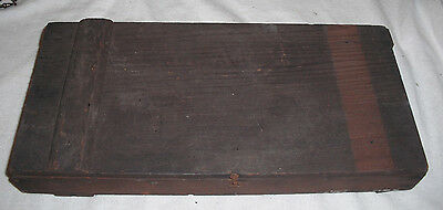 Antique 1910's CALARAB CANDY FIGS Wooden California Redwood Box-BISHOP & COMPANY