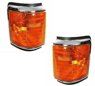 Replacement Front Corner Lamps Side Park Lights Left /& Right Fleetwood Pace Arrow Vision 1998-2001 RV Motorhome Pair