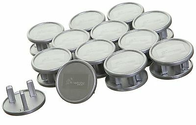 Dreambaby Silver Look Socket Covers - Pack of 24 -From the Argos Shop on ebay
