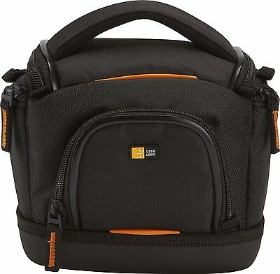Case Logic SLDC-203 Action Camcorder Video Camera Bag for Sony & Canon (Black)