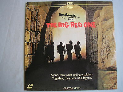 THE BIG RED ONE laserdisc PAL 1980 Lee Marvin