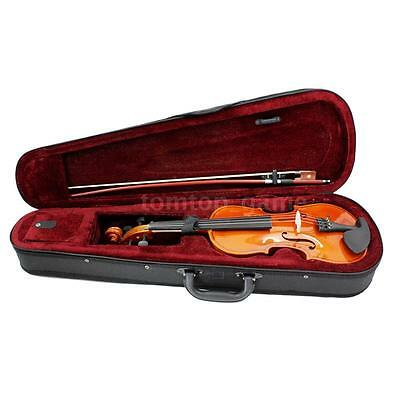 New 4/4 Full Size Violin Fiddle Basswood Arbor Bow+Case For Student 13+ V8S3