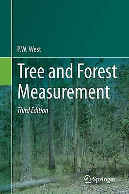 Tree and Forest Measurement by P.W. West (English) Paperback Book Free Shipping!