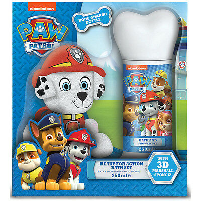 Paw Patrol Ready For Action Bath Set NEW